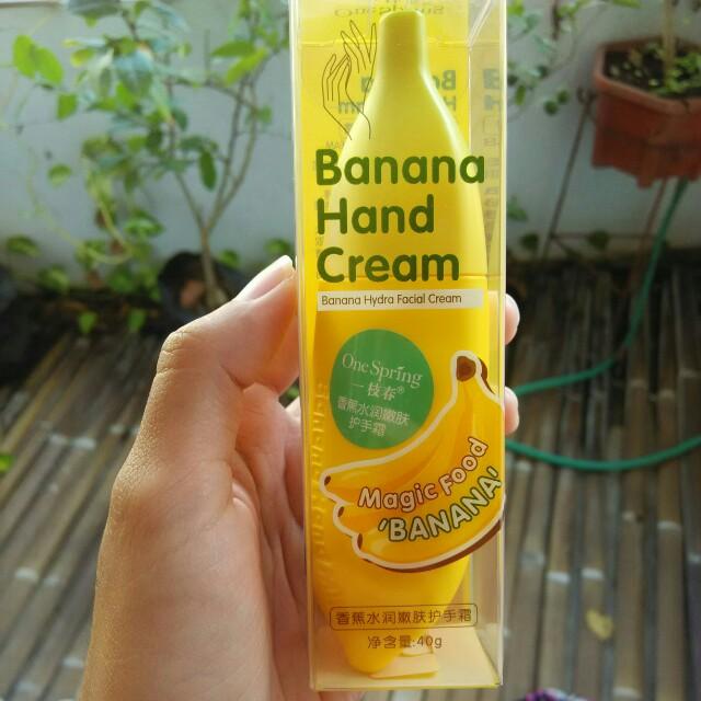Banana Hand Cream