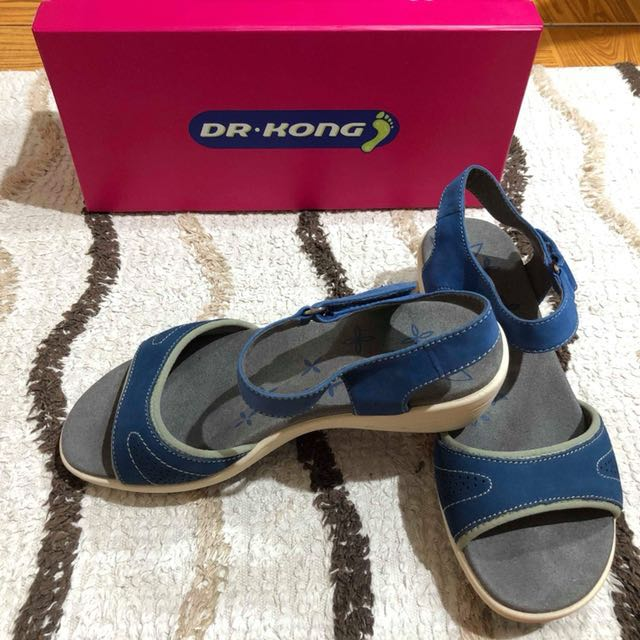 Blue Ladies Sandals