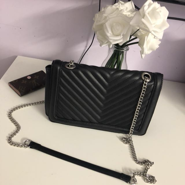 BN CHEVRON QUILTED BAG