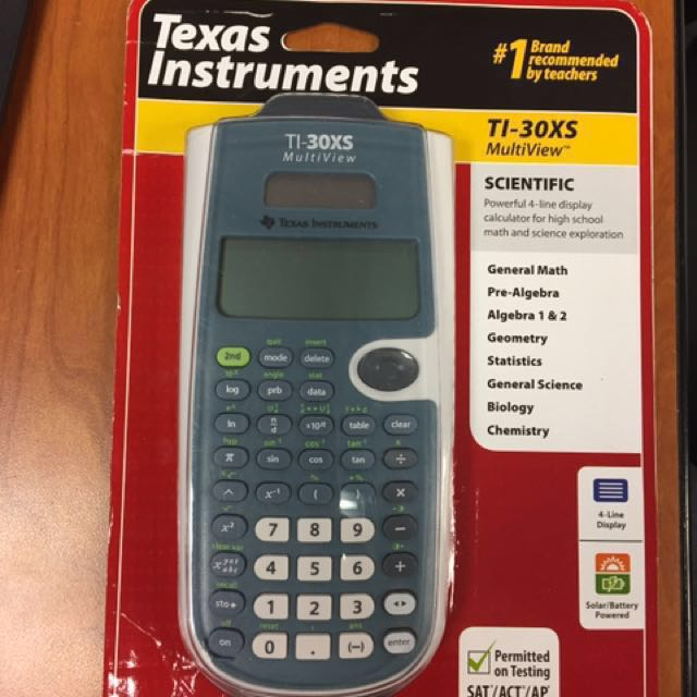 BNEW ORIG Texas Instruments TI-30XS Multiview Scientific Calculator