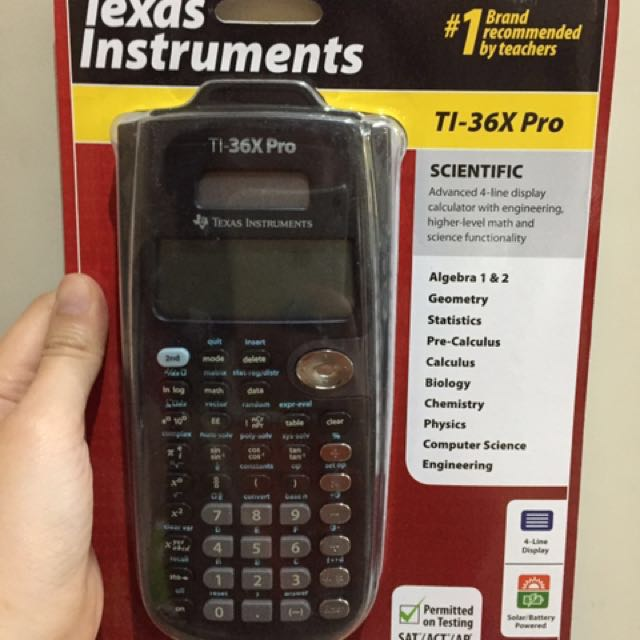 BNEW ORIG Texas Instruments TI-36X Pro Engineering Scientific Calculator
