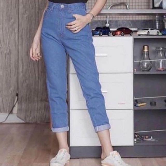 Boyfriend highwaist jeans