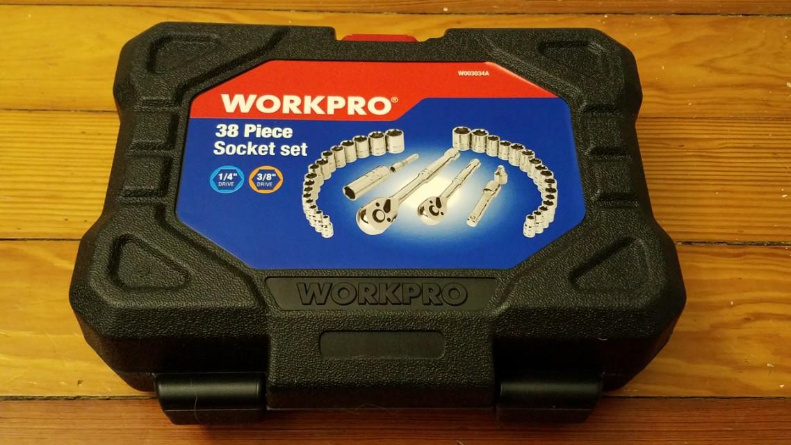 Brand New Socket Set -- 38-Piece