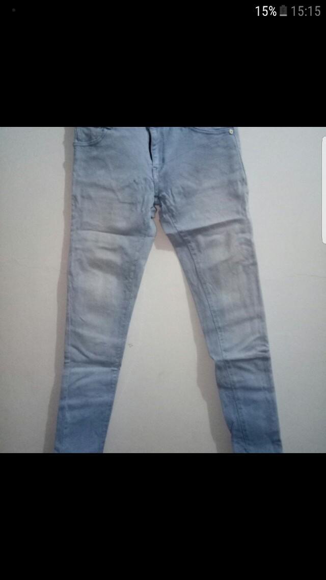 celana jeans prada