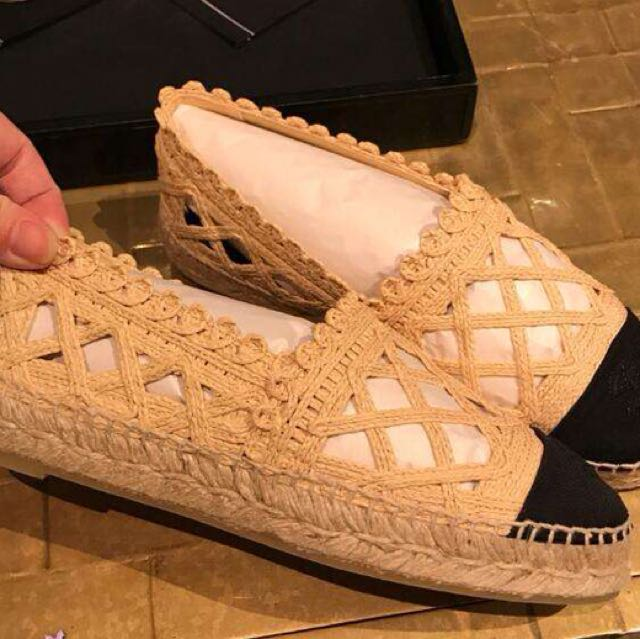 Chanel espadrilles high quality