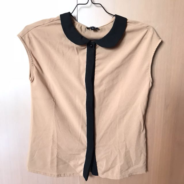 CLOTH INC Brown Top