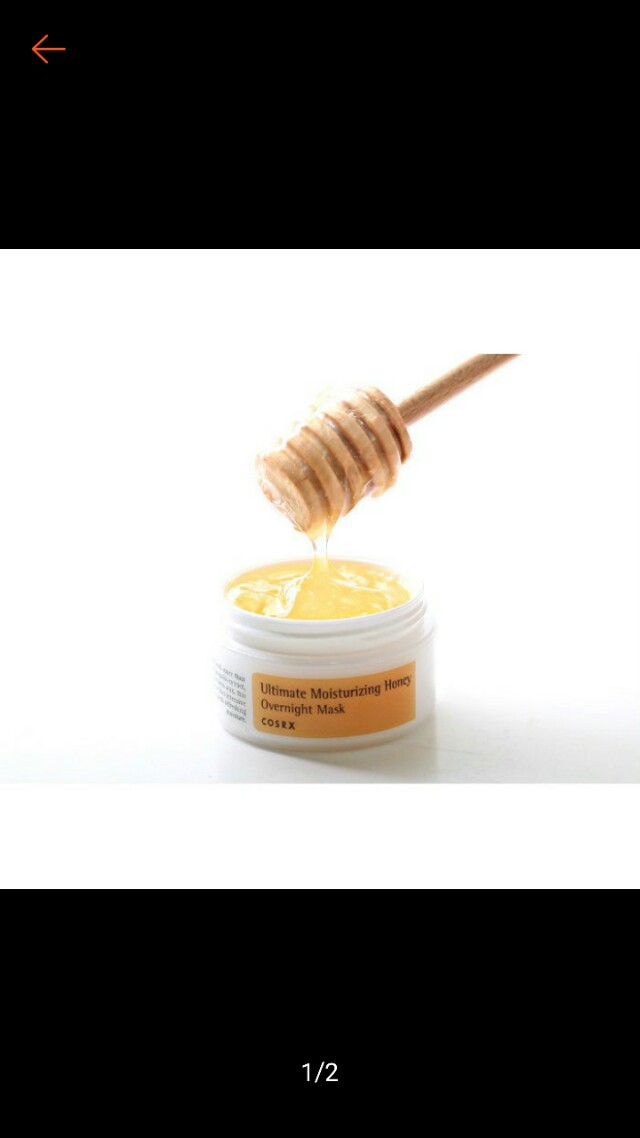 🆕Cosrx honey overnight mask