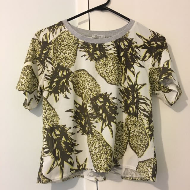 Cute Zara Pineapple Top🍍