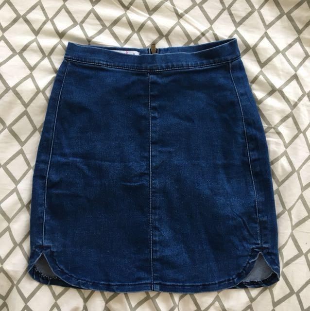 Denim skirt - XS