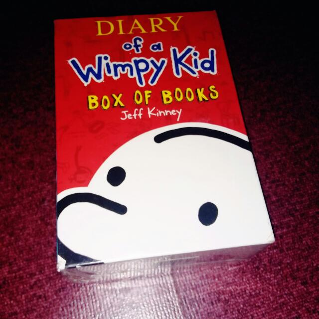 Diary Of A Wimpy Kid Set