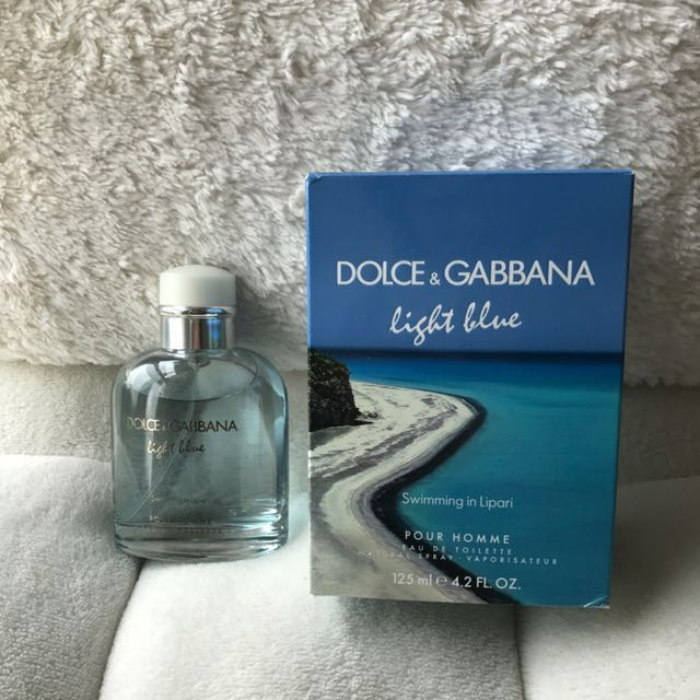 8a6501cf9d Dolce & Gabbana Light Blue Swimming in Lipari Pour Homme, Health & Beauty,  Hand & Foot Care on Carousell