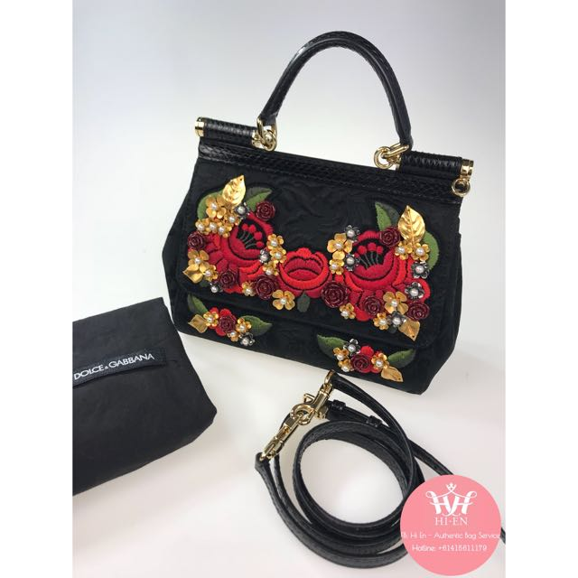 #DOLCEGABBANA SICILY small with long strap (limited edt)