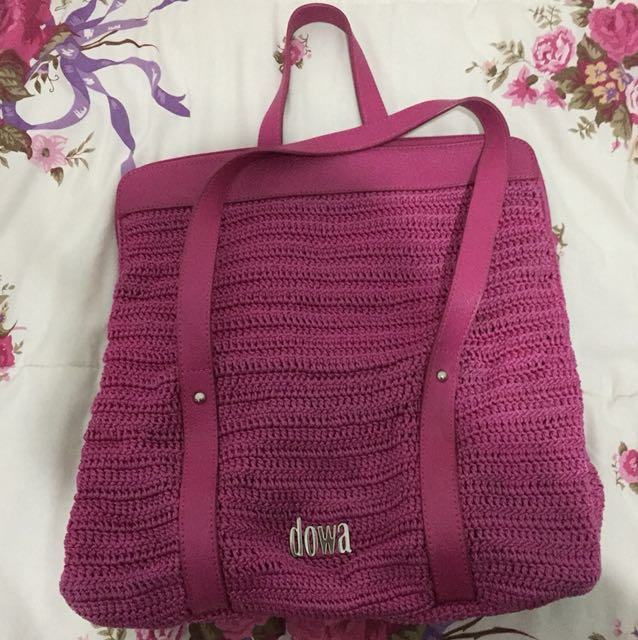 DOWA Bag Fuschia
