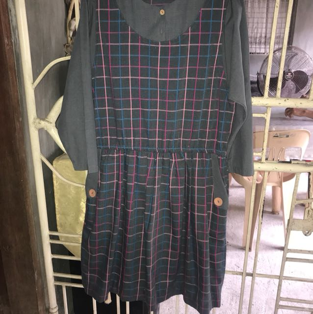 Dress Longsleeve Checkered