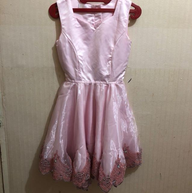 Dress manik2 pink