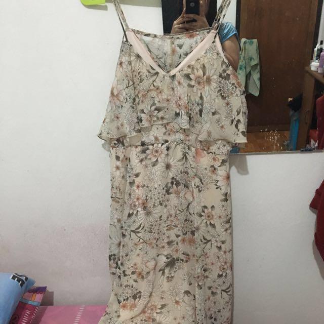 Dress Sifon Flowers