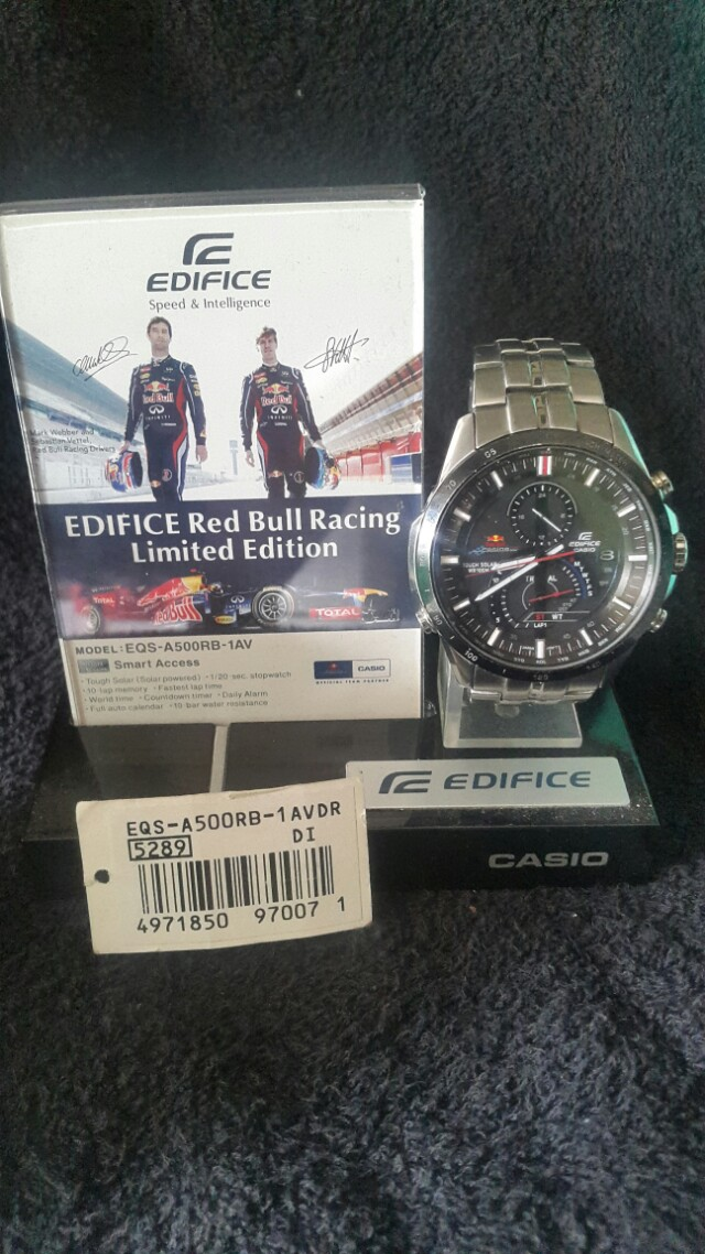 Edifice Redbull Limited Edition EQS-A500RB-AVDR