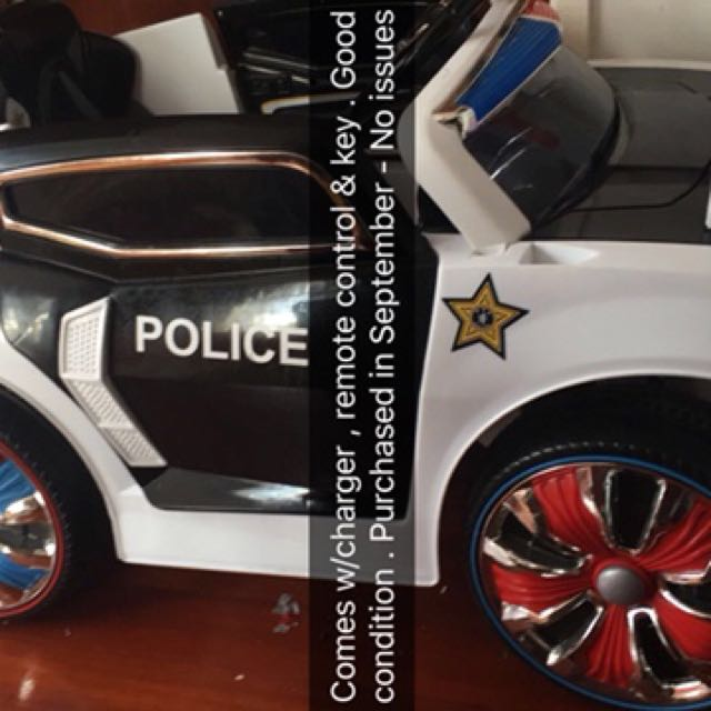 Electronic Police Car