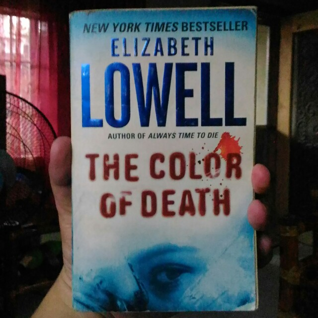 Elizabeth Lowell - The Color of Death