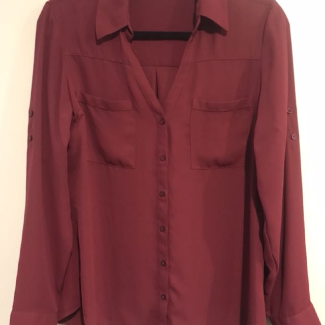 Express Portfino Shirt - Sz Medium