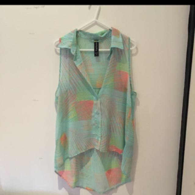 FACTORIE NEON BLOUSE