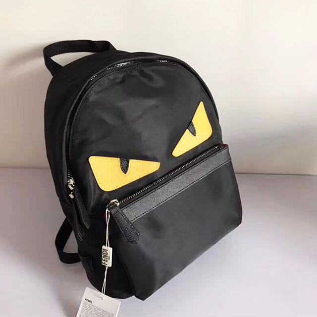 43d192792cc ... Fendi nylon backpack, Luxury, Bags Wallets on Carousell newest b6c8f  d3ae4 ...