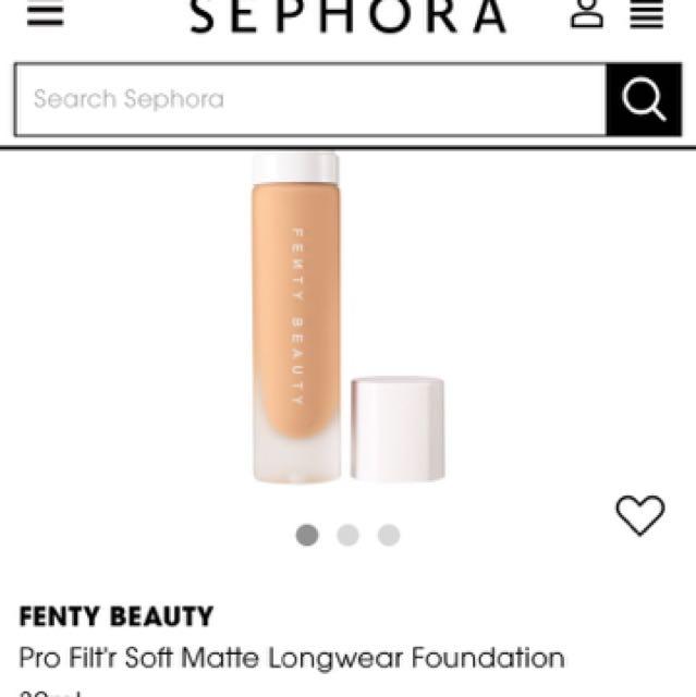 Fenty beauty Soft matte foundation shade 120