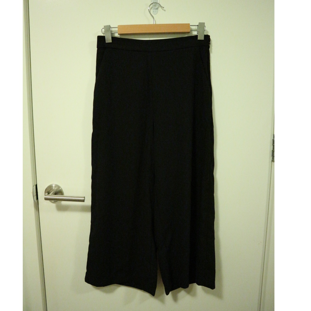 Forever 21 Black Culottes Size M