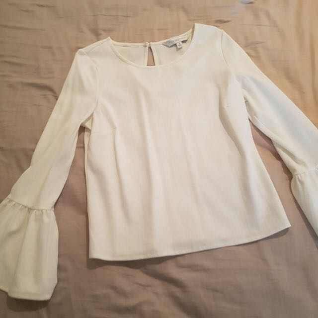 Forever New Top with Bell Sleeves