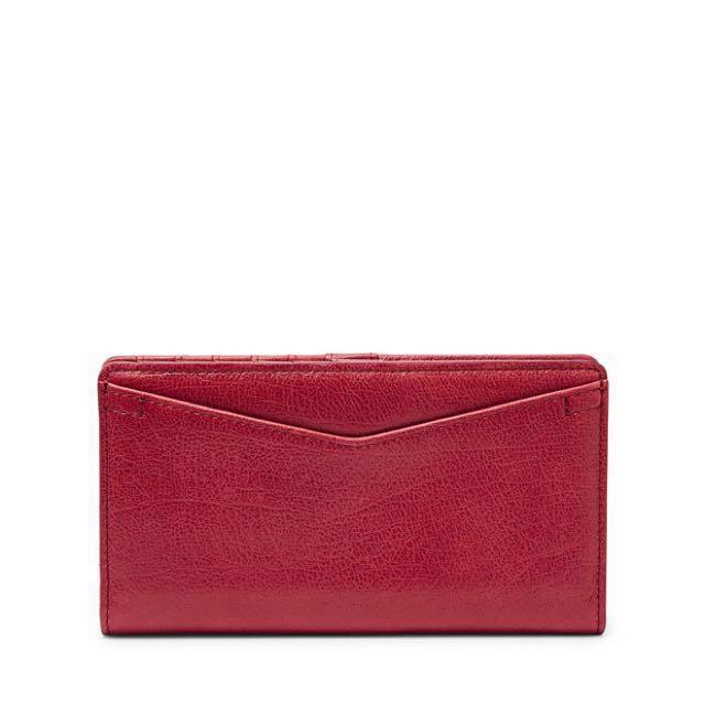 Fossil Leather Bi-Fold Wallet