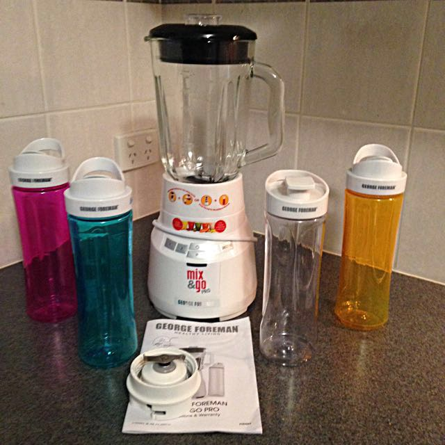 George Foreman Mix And Go Pro Blender