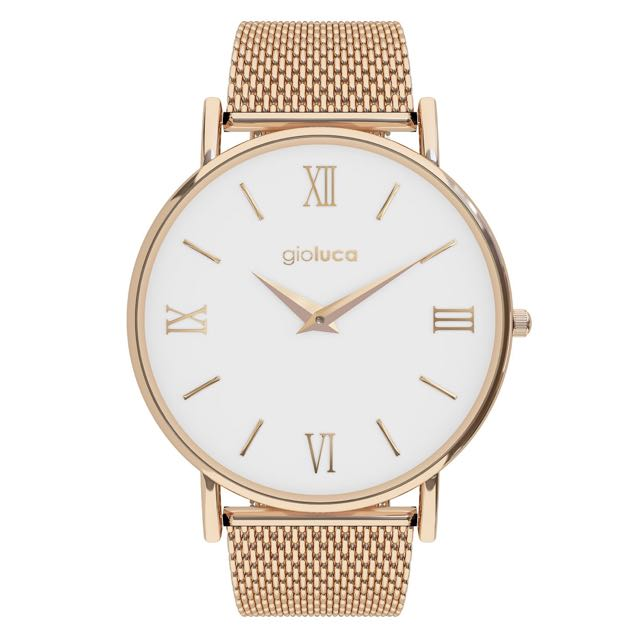 Gioluca - Gigi Rose Gold & White Watch