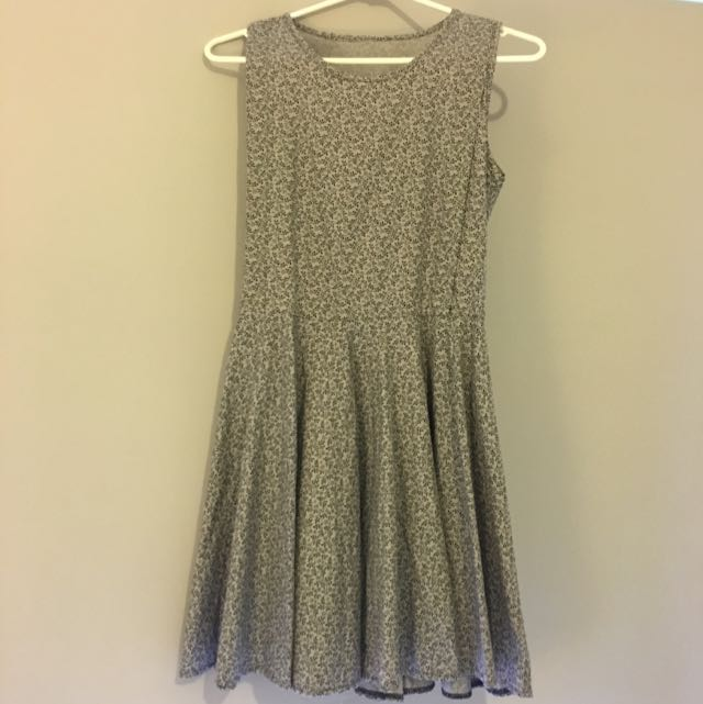 Grey Dress 👗 Size8