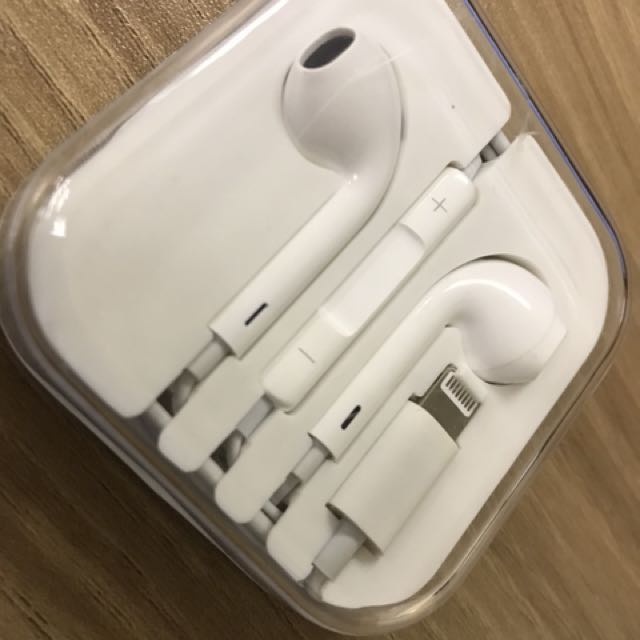 Headset Lightning connector for iphone 7 and 8