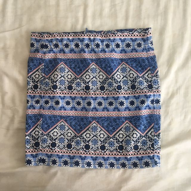 H&m tribal skirt
