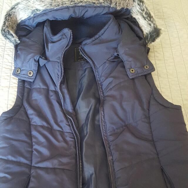 Hooded Vest Cotton On Sz Xs
