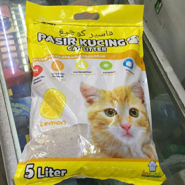 🔥Hot Murah!!🔥Pasir kucing Cat litter 5liter #MidJan55