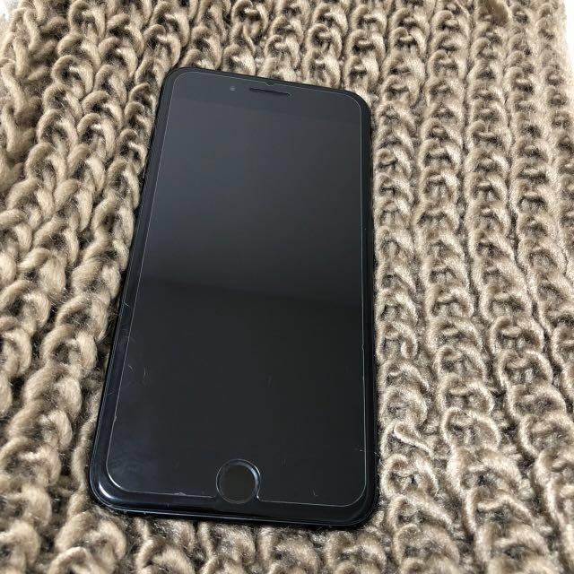 iPhone7 plus 256gb black matte