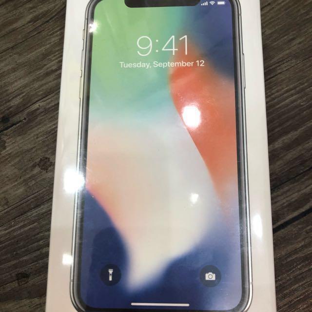 Iphonex-256銀 /現金分期/學生現金分期