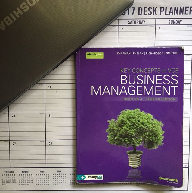 Jacaranda VCE Business Management 3/4