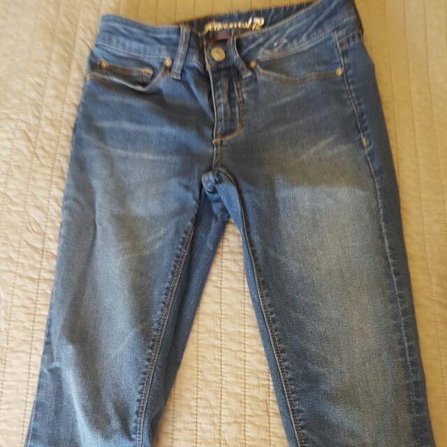 Jeanswest Crop Jeans Sz 6 Sz 7