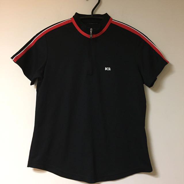 K2 韓國製 登山運動品牌 90's 復古 拉鍊上衣