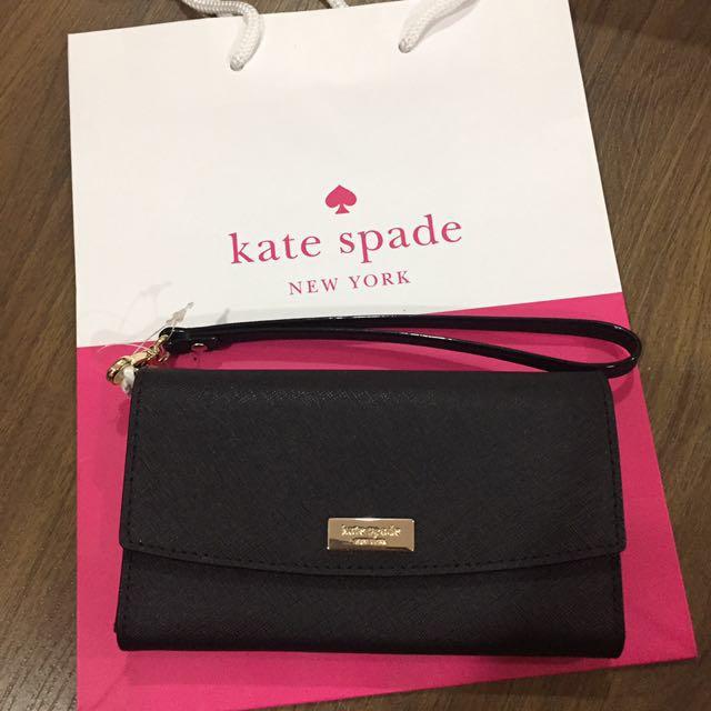 Kate Spade iPhone/Wallet w Strap