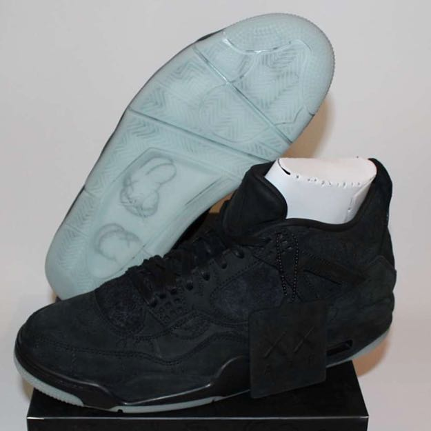 ded77fe9a82a3 Kaws x Nike Air Jordan 4 'Black', Men's Fashion, Footwear, Sneakers on  Carousell