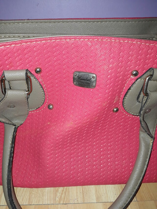 Kimbel pink bag