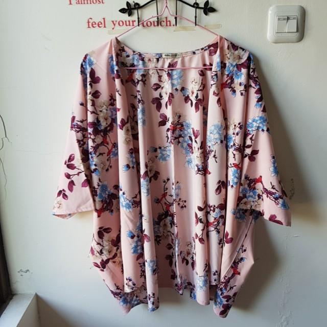 Kimono pink flower