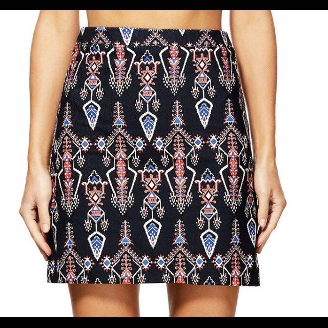 Kookai Ashleigh Skirt Size 36