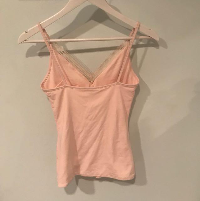 Kookai singlet - soft pink