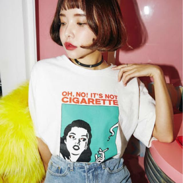 Korean loose tee available here!!