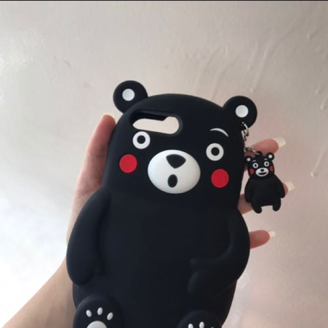 KUMAMON PHONE CASE 6/7/8+ (FREE W/ ORDERS OVER $50)